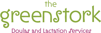 The Green Stork Logo